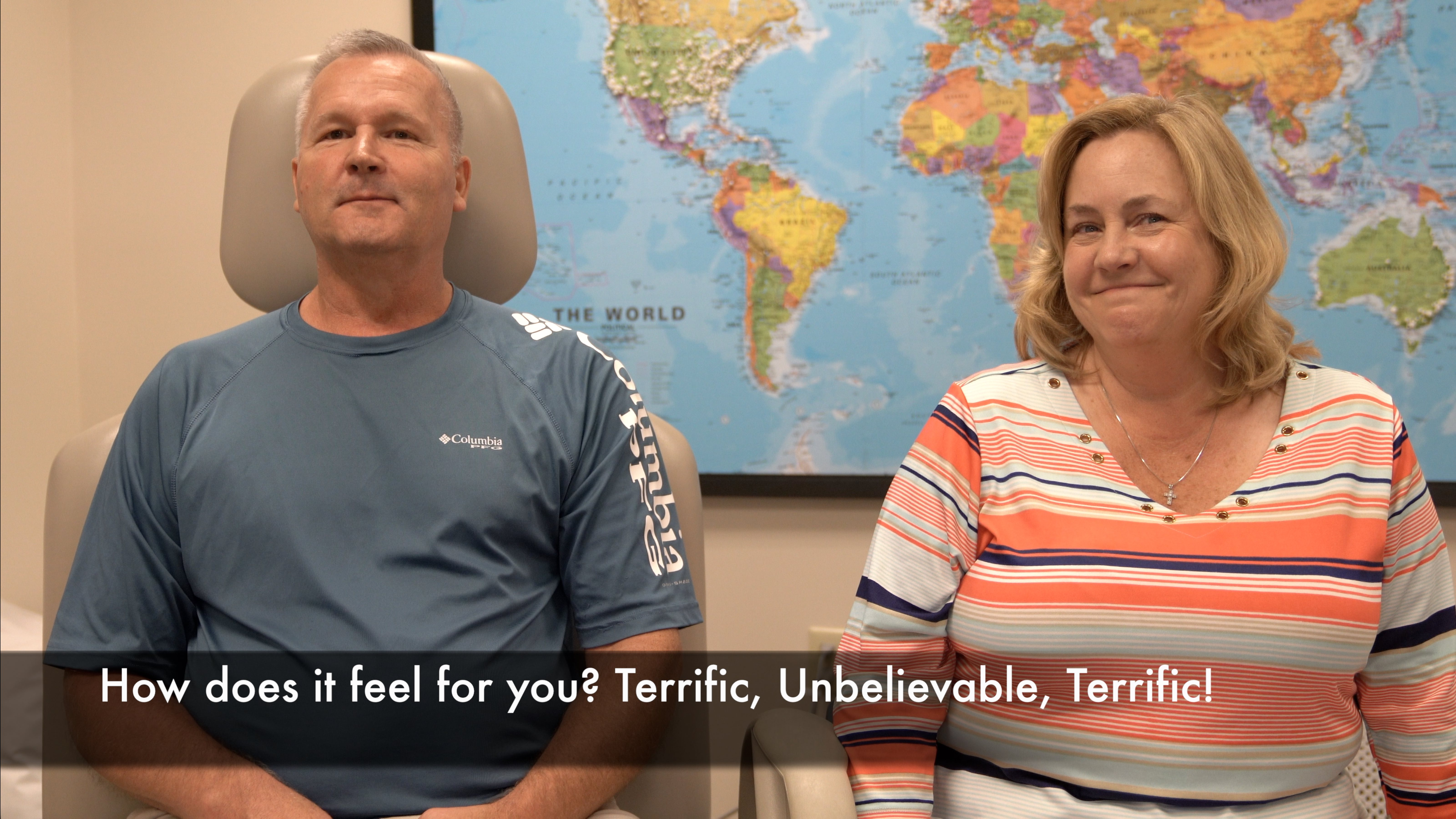16 months after stroke, multiple improvements after treatment by Edward Tobinick, M.D.