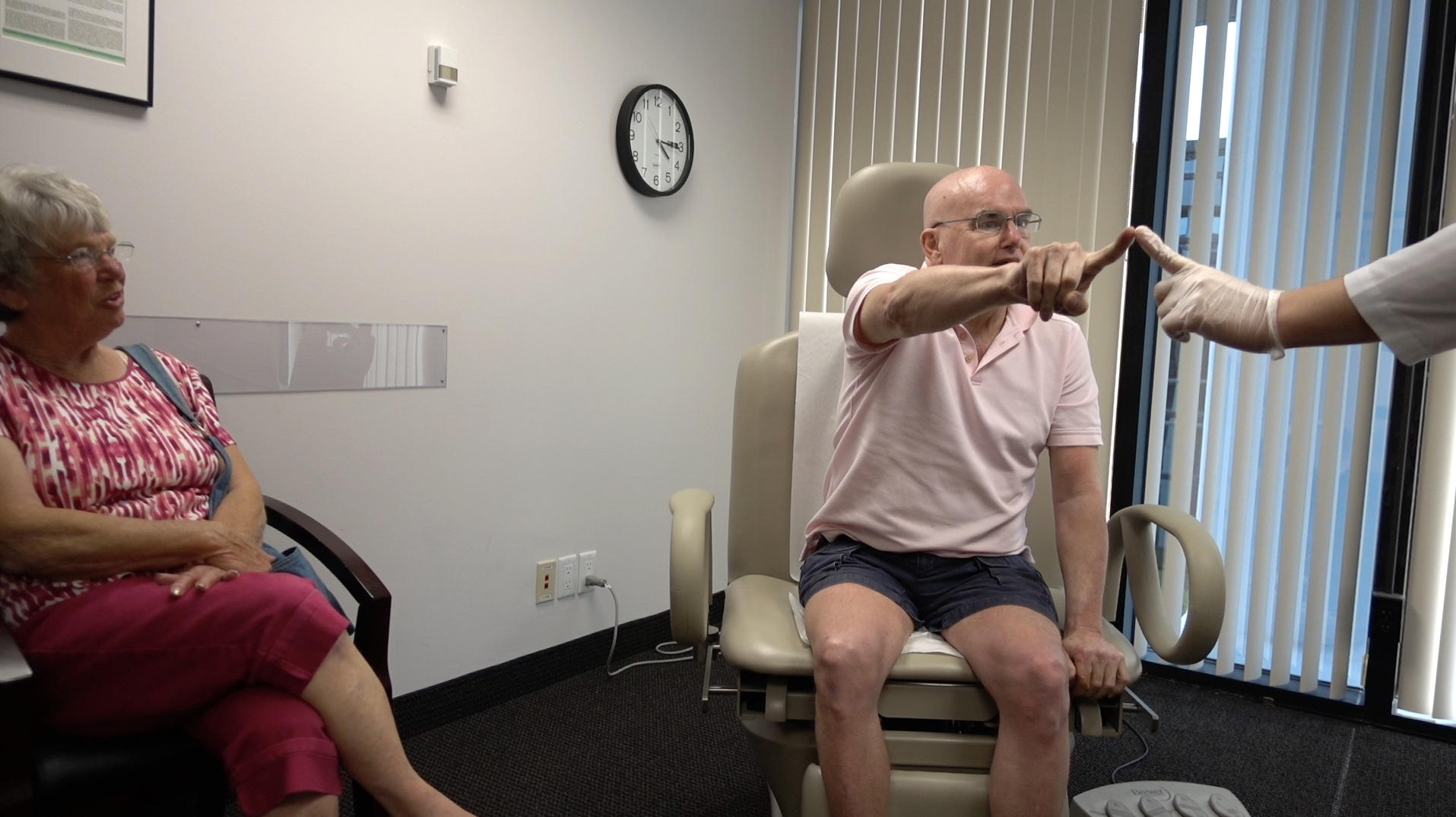 Immediate improvement in hand function, right hemiparesis, balance and hearing: From Maine to the INR, July 2015